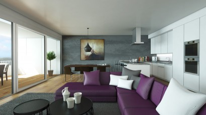 CBRE Z44 The Residence images 3D architecture (10)