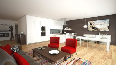 CBRE Z44 The Residence images 3D architecture (4)